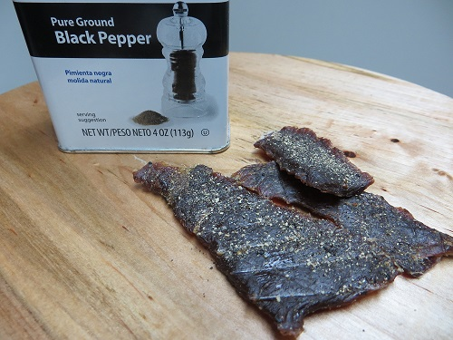 peppered deer jerky recipe